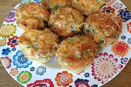 Gemüse - Muffins