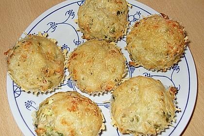 Gemüse - Muffins 4