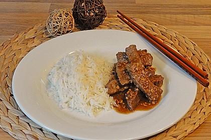 Chinesisches Knoblauchfleisch 1
