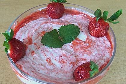 Erdbeercreme mit Kokos 12