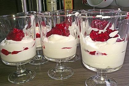 Erdbeercreme mit Kokos 9