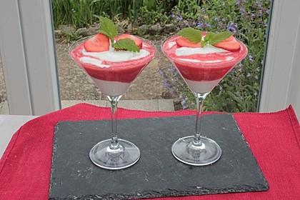Erdbeercreme mit Kokos 14
