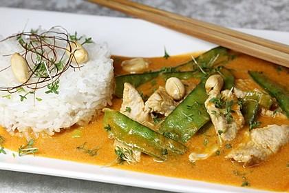 Puten - Erdnuss Curry 1
