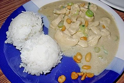 Puten - Erdnuss Curry 2