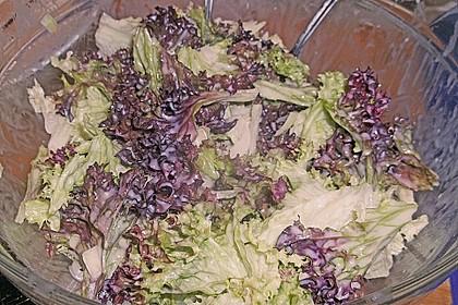 Blattsalat mit Dressing 8