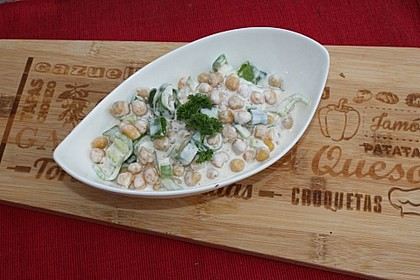 Kichererbsen in Joghurtsoße 2