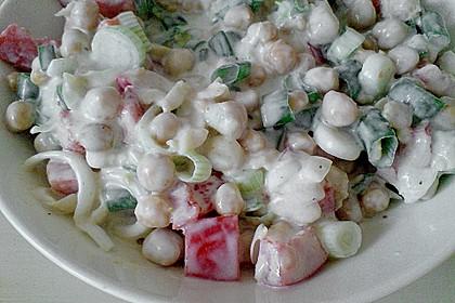 Kichererbsen in Joghurtsoße 1