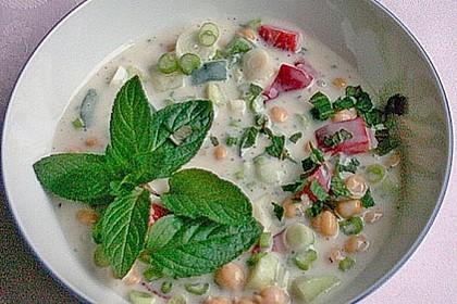 Kichererbsen in Joghurtsoße 3