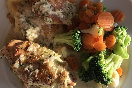 Hühnerbrustfilet mit Kräuter - Käsekruste 5