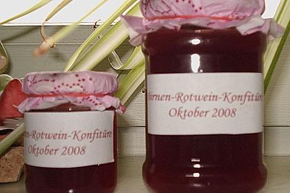 Birnen - Rotwein Konfitüre 11