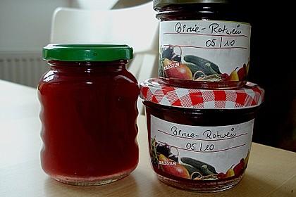 Birnen - Rotwein Konfitüre 5