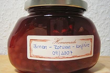 Birnen - Rotwein Konfitüre 9