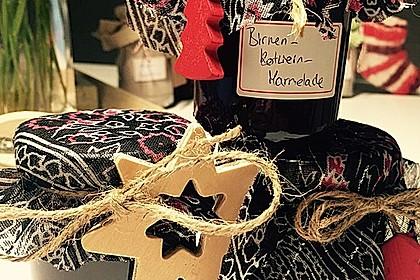 Birnen - Rotwein Konfitüre