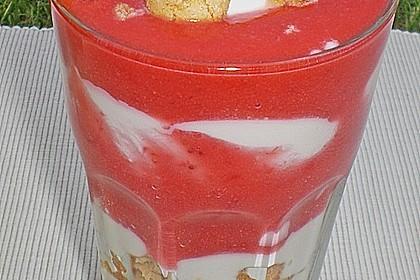 Erdbeerquark mit Amaretti 18