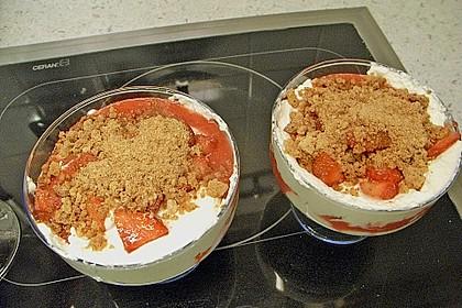 Erdbeerquark mit Amaretti 39