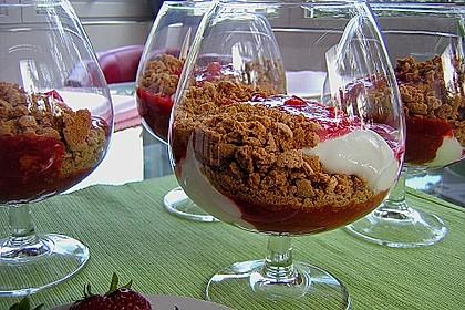 Erdbeerquark mit Amaretti 5