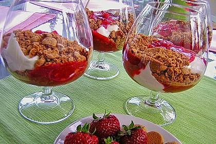 Erdbeerquark mit Amaretti 6