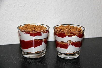 Erdbeerquark mit Amaretti 8
