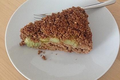 Rhabarber - Streusel Kuchen auf Quark - Öl Teig 14