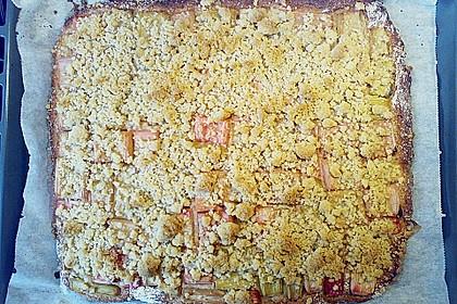 Rhabarber - Streusel Kuchen auf Quark - Öl Teig 25