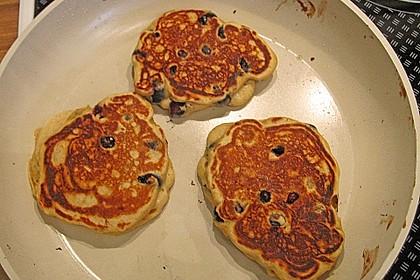 American Blueberry Pancakes 10