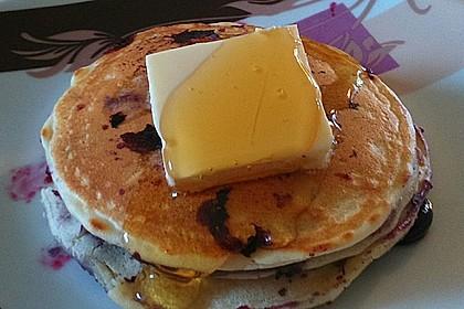 American Blueberry Pancakes 6