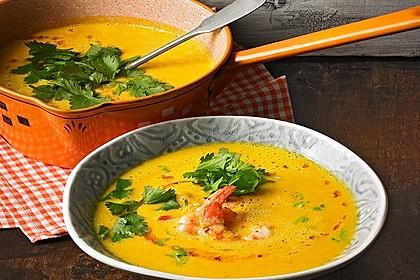 Kürbissuppe mit Ingwer und Kokosmilch von UlrikeM | Chefkoch