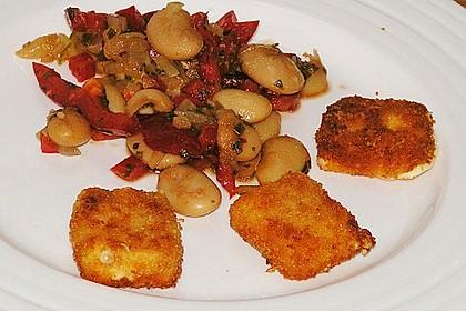 Salat von weißen Bohnen und Paprika 3