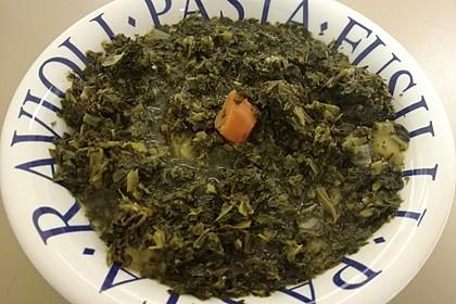 Vegane Grünkohlsuppe mit Buchweizen (Bild)