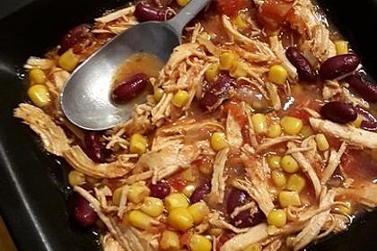 Mexikanische Taco-Suppe (Bild)