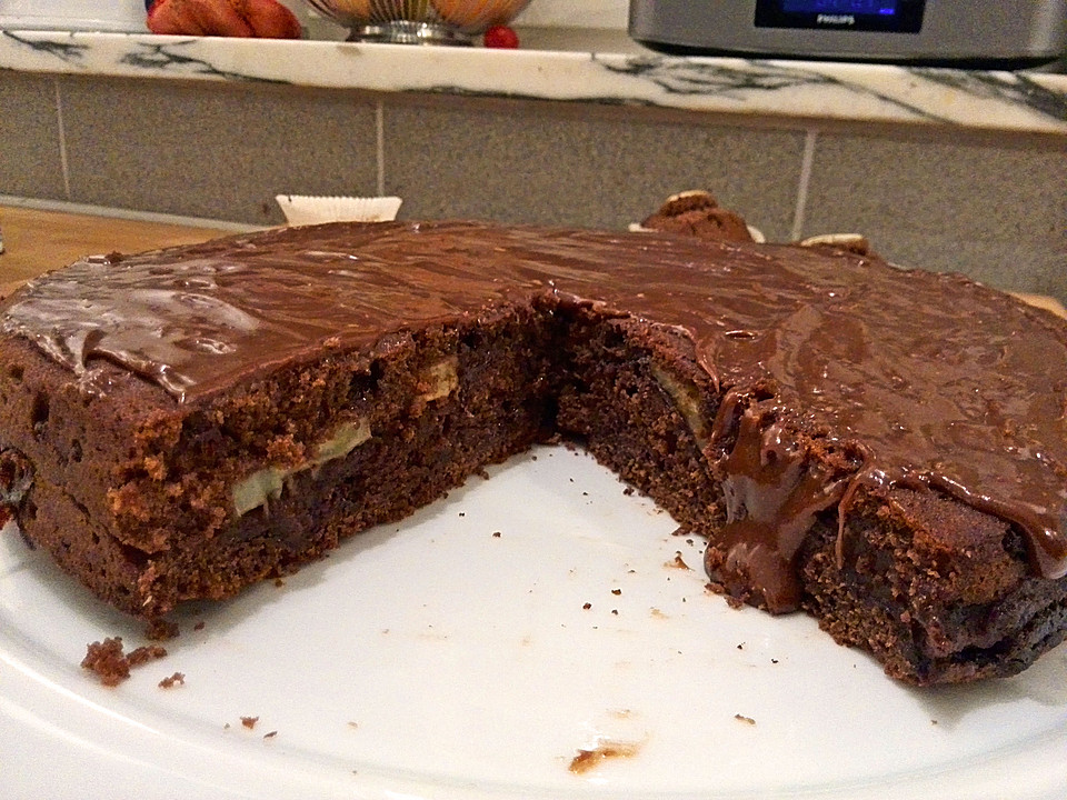 Nutella Bananen Pudding Kuchen Von Sultansharem666 Chefkoch De