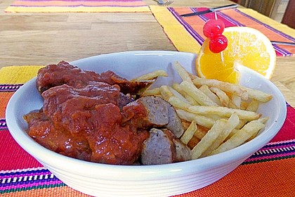 Don Diegos schnelle Currywurst-Sauce, chunky-style 3