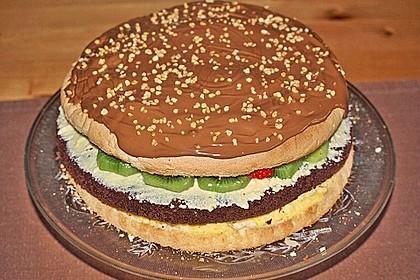 Hamburger-Torte