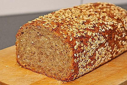 5-Korn-Schrot-Brot nach Eggther