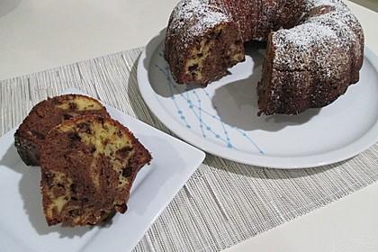 Marmorkuchen mit Schokoladenstückchen 8