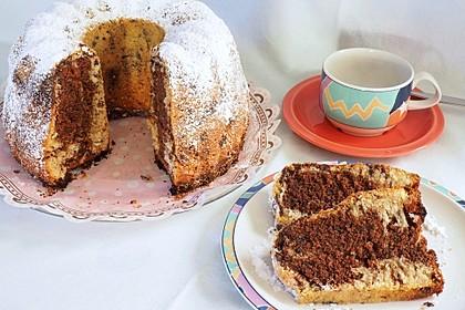 Marmorkuchen mit Schokoladenstückchen 2