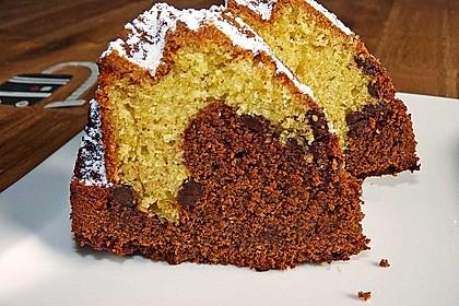 Marmorkuchen mit Schokoladenstückchen 1