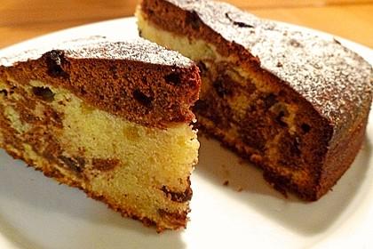 Marmorkuchen mit Schokoladenstückchen 11