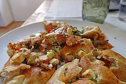 Pikanter vegetarischer Kaiserschmarren (Bild)