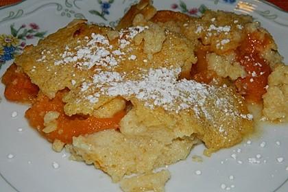 Dinkelgrieß-Aprikosen-Auflauf 1