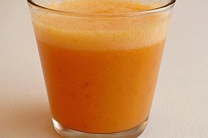 Fenchel-Paprika Smoothie mit Frucht und Würze 1