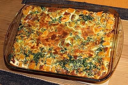 Kürbis-Süßkartoffel-Lasagne