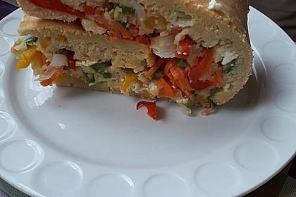 Ofenpfannkuchen mit Gemüse und Feta 36