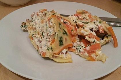 Ofenpfannkuchen mit Gemüse und Feta 40