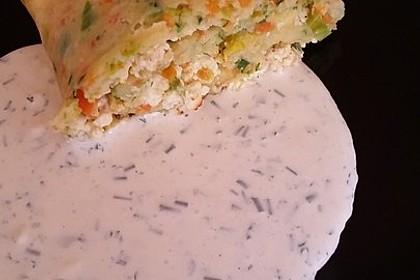 Ofenpfannkuchen mit Gemüse und Feta 47