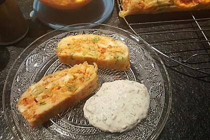 Ofenpfannkuchen mit Gemüse und Feta 19