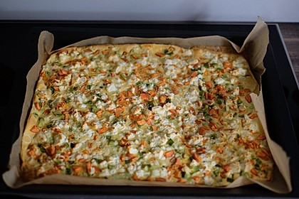 Ofenpfannkuchen mit Gemüse und Feta 12
