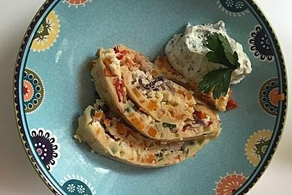 Ofenpfannkuchen mit Gemüse und Feta 32