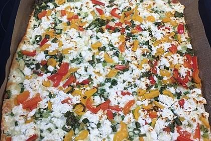 Ofenpfannkuchen mit Gemüse und Feta 53