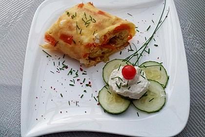 Ofenpfannkuchen mit Gemüse und Feta 17